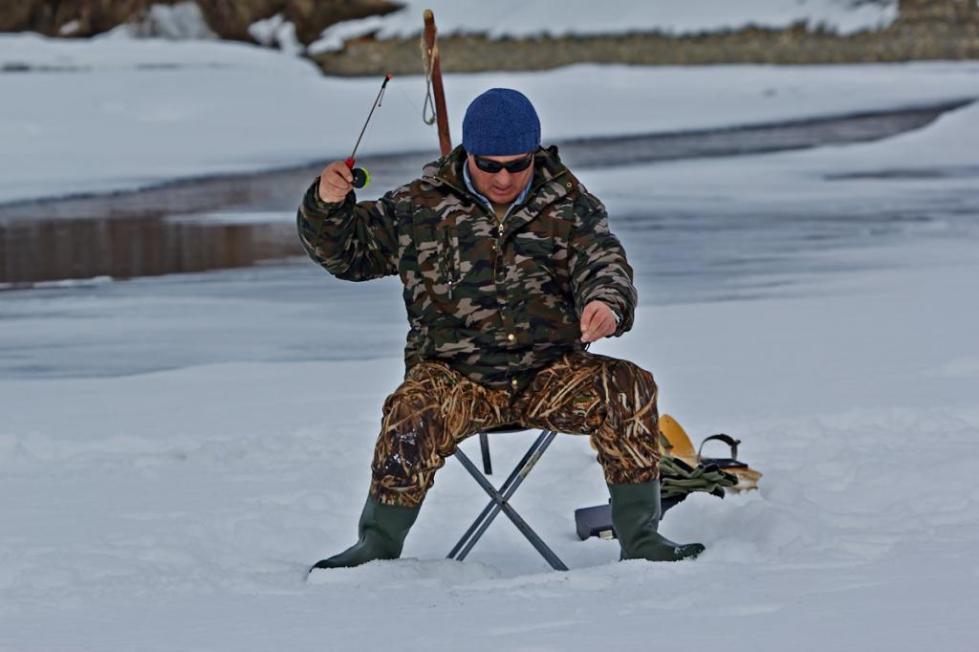 Зимняя рыбалка на Колыме