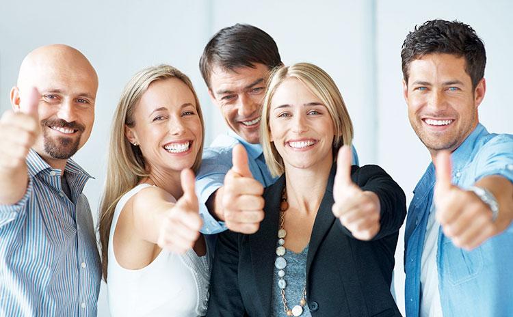 Довольные клиенты