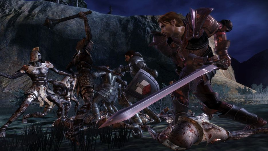 Dragon Age Origins игра