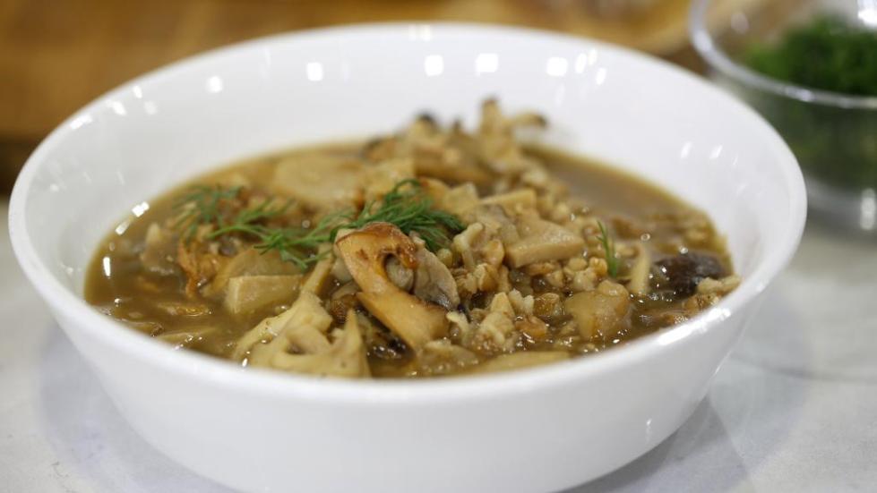 Грибной суп рецепт из замороженных лесных грибов