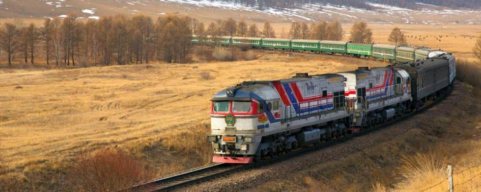 Железные дороги в Монголии