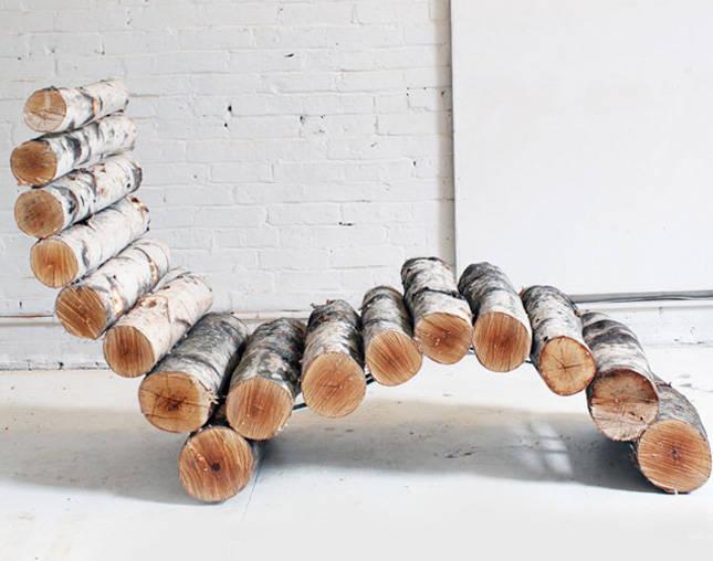 деревянная лежанка