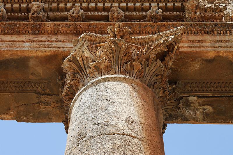 ливан древний город баальбек