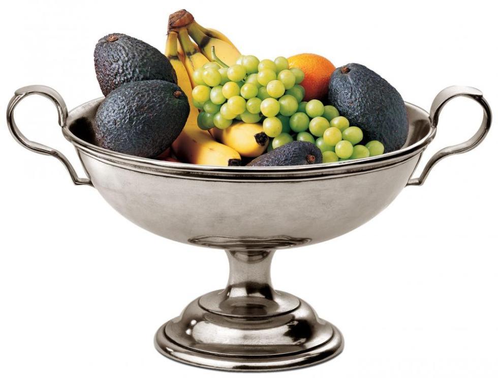 фруктовница металлическая чаша