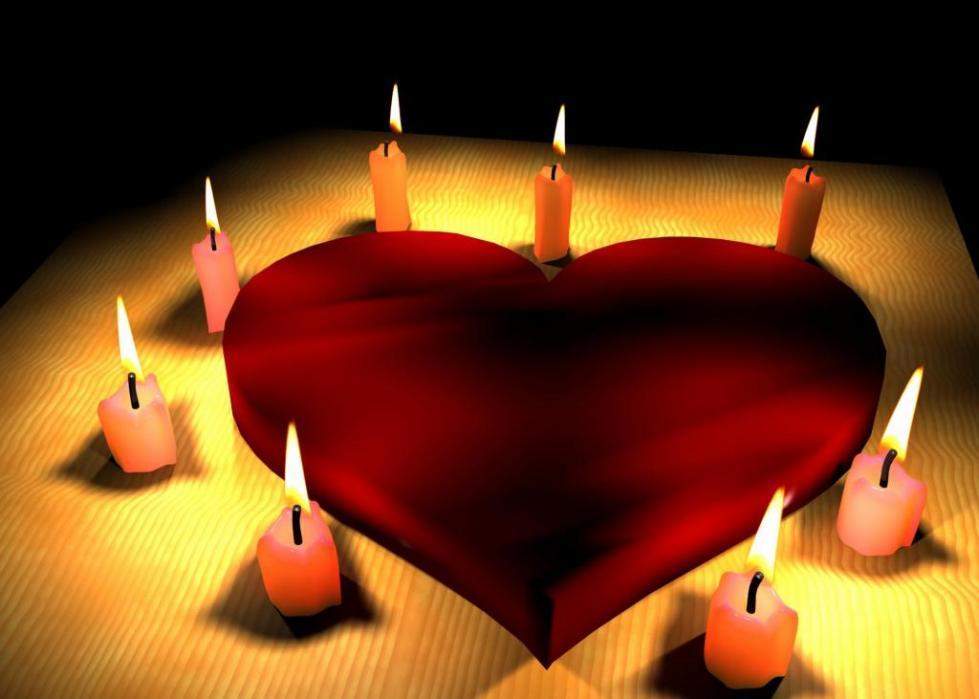 Сердце и свечи