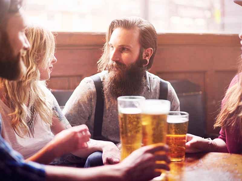 встречи и выпивка