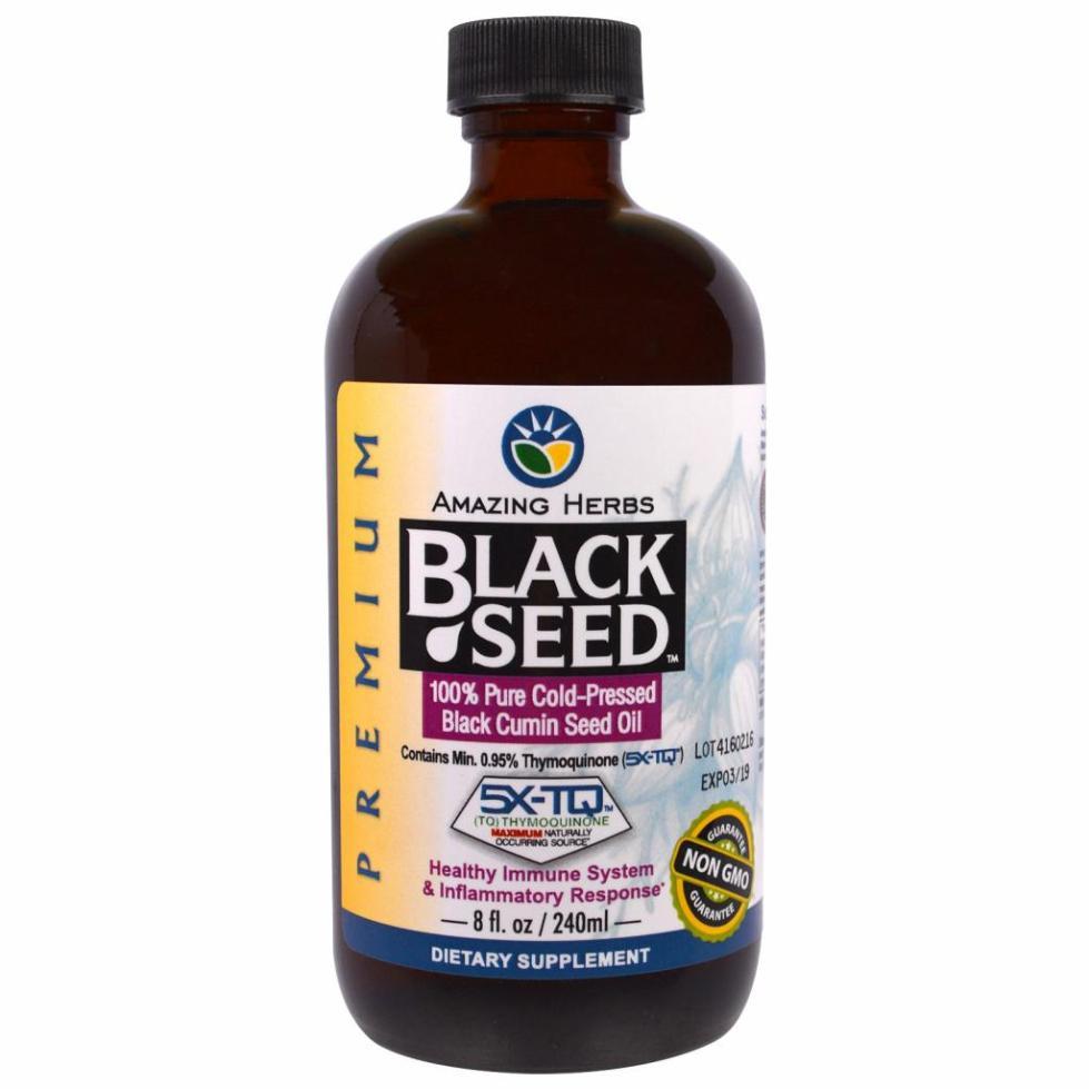 масло черного тмина гормоны