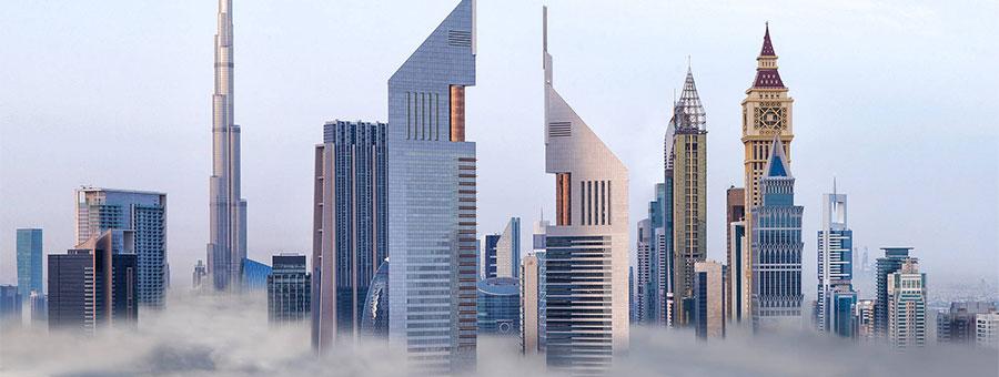 высотки Дубая