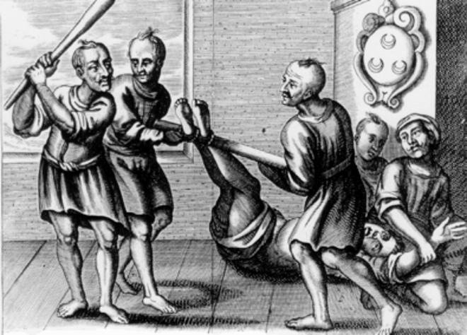 Истязание раба