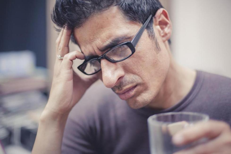 Боль в голове у мужчин