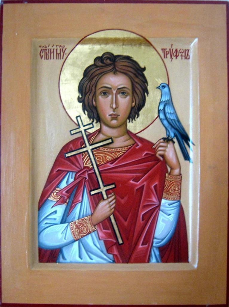Икона святогоТрифона