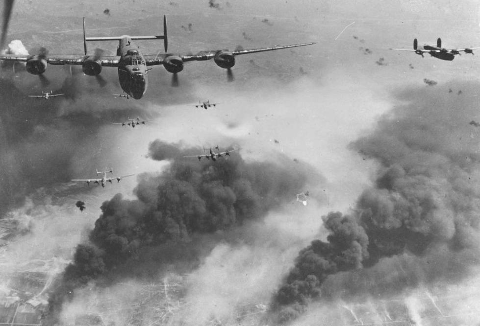 Во время Второй Мировой