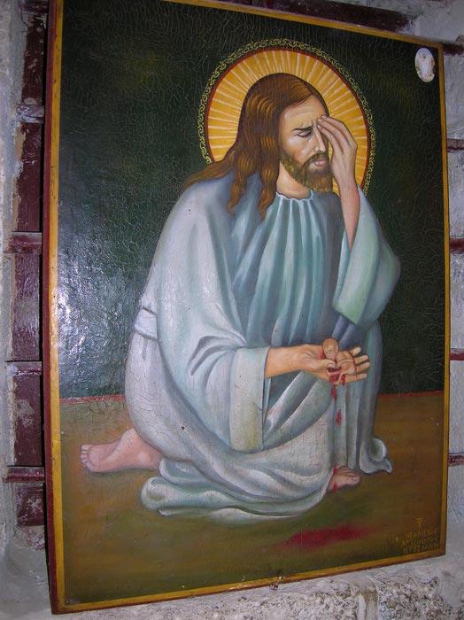 """Икона """"Плач Иисуса"""""""