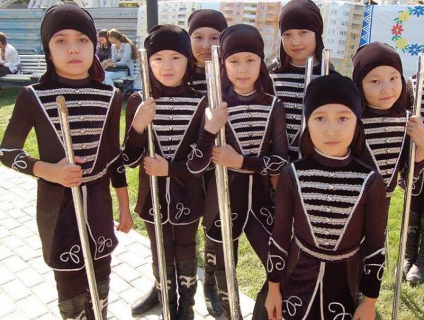 дети ногайцы