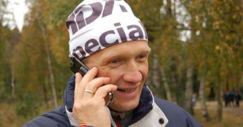 Биатлонист Драчев