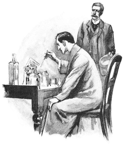 Шерлок Холмс за работой