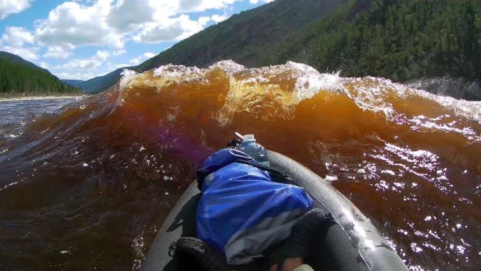 сплав по реке Олекма