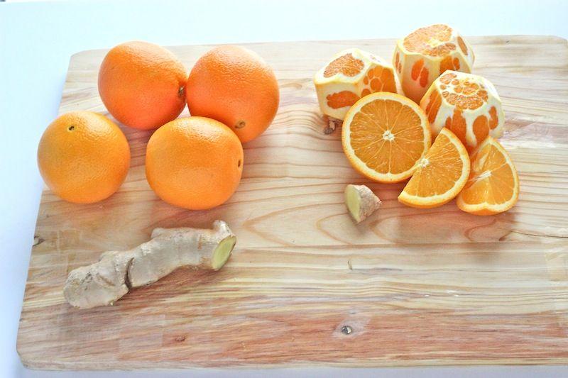Пошаговый рецепт апельсинового конфитюра с имбирем