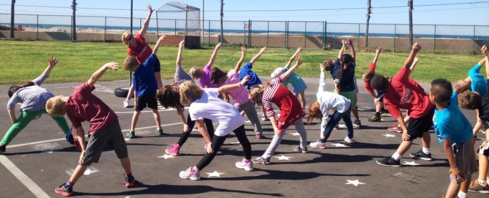 физкультура в средней школе