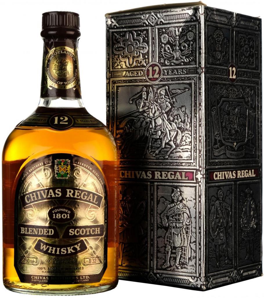 виски чивас ригал 12 лет 1 литр