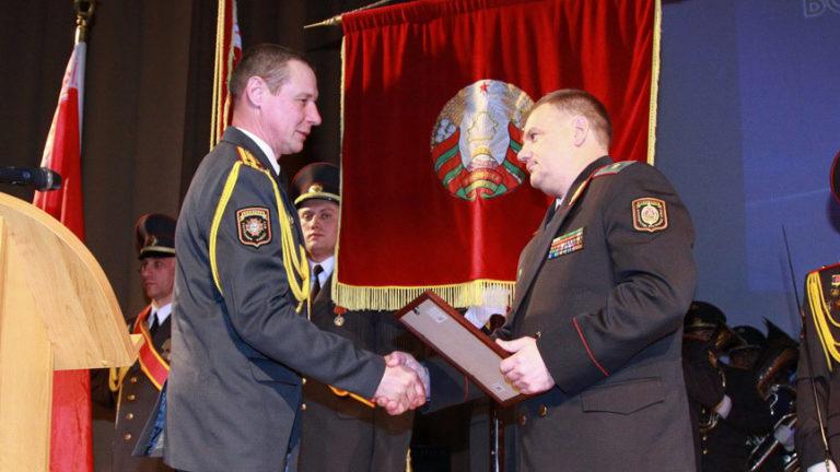 Форма офицеров ВВ МВД Республики Беларусь