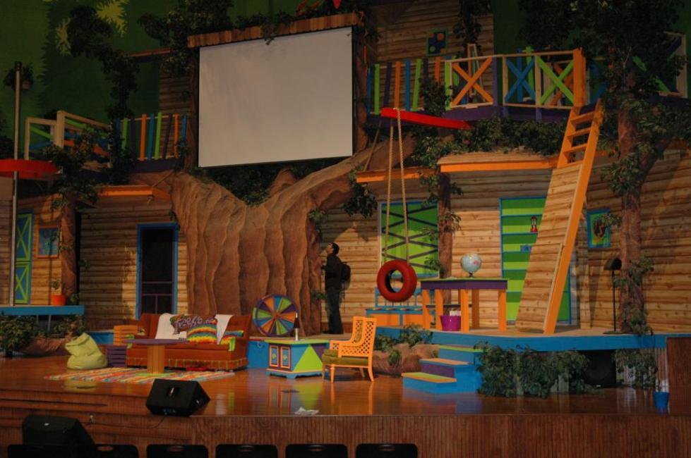 Декорации в детском театре