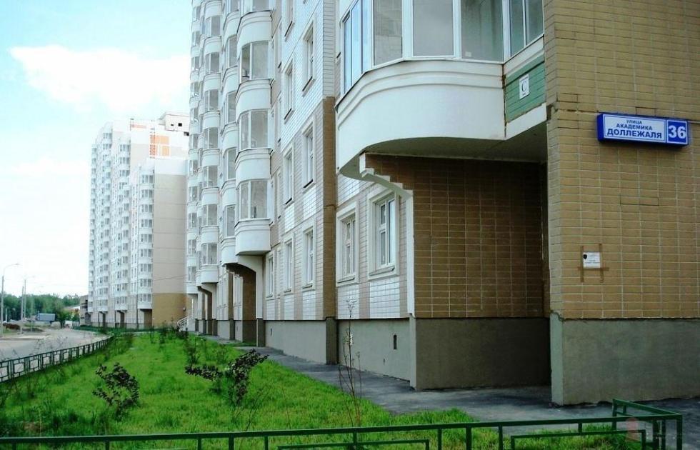 Улица Доллежаля в Подольске