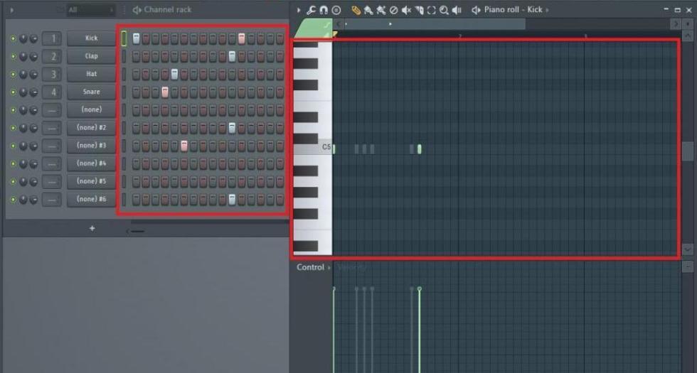 Степ-секвенсор в FL Studio