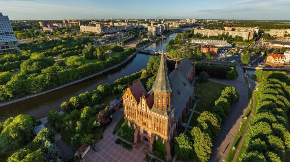 Калининград с высоты