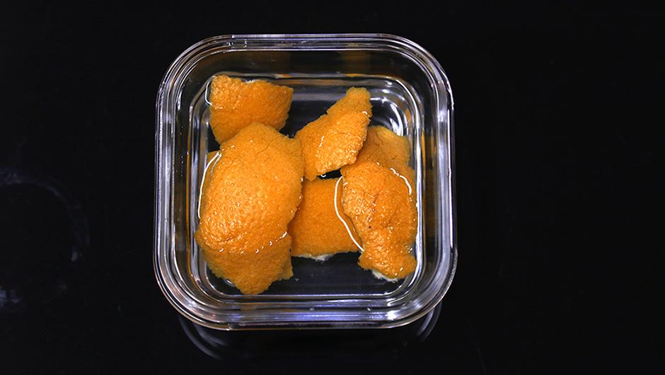 чистка микроволновки лимоном