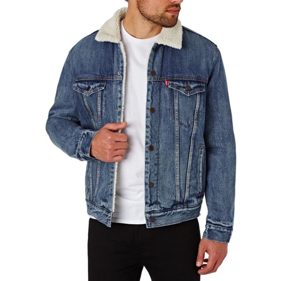 Куртка из джинсы