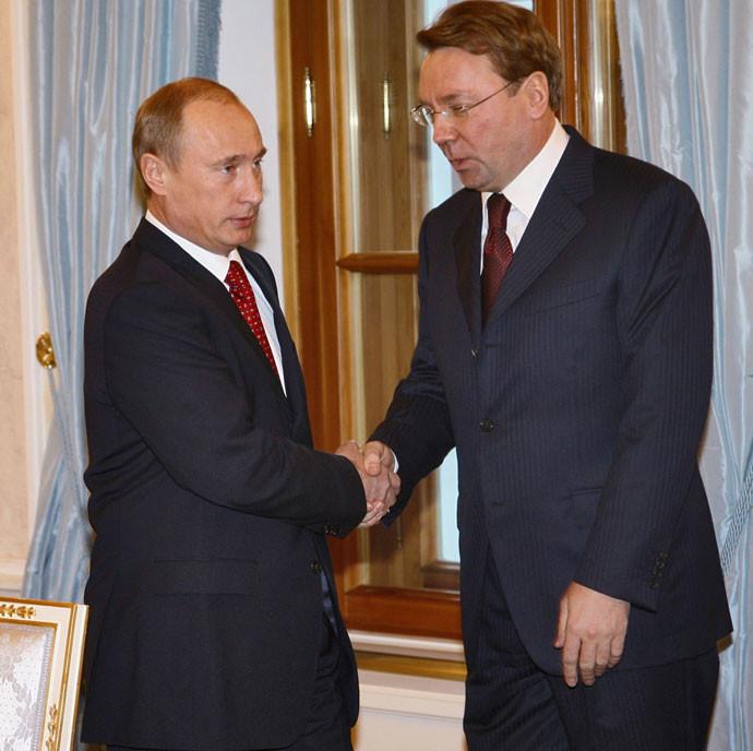 Кожин и Путин
