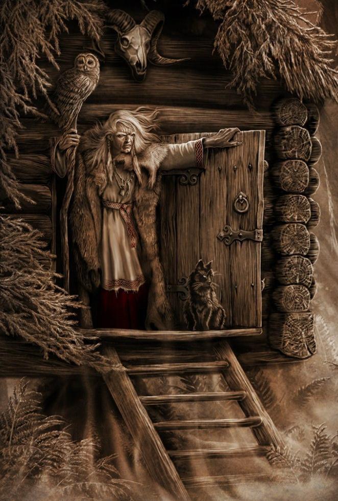 Баба Яга - героиня славянских мифов