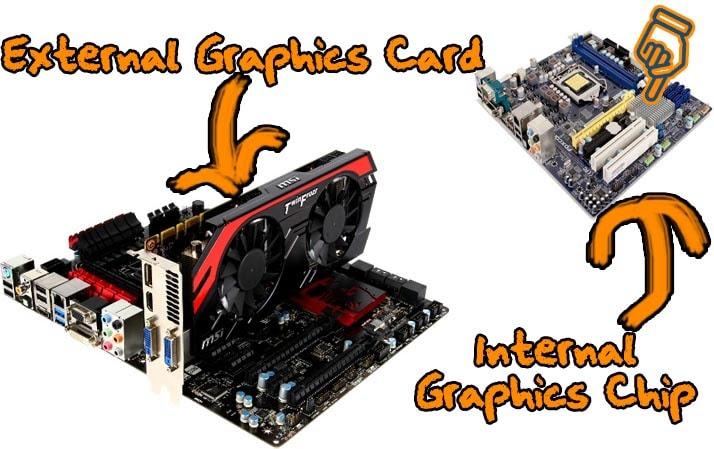 Дискретная и интегрированная видеокарты