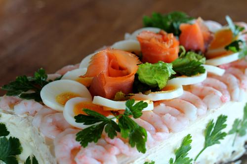 торт закусочный скандинавский