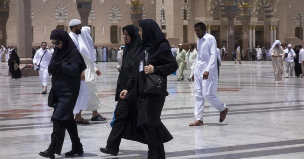 Женщины и мужчины мусульмане