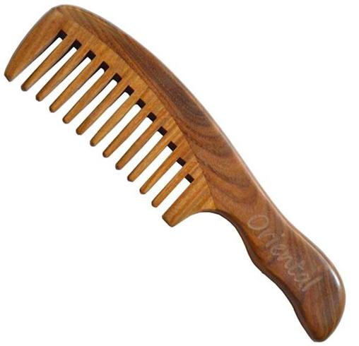 Расческа деревянная