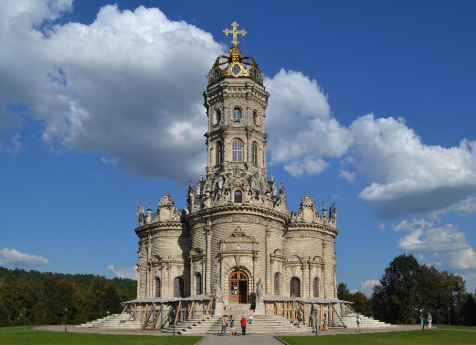 Церковь Знамения в селе Дубровицы