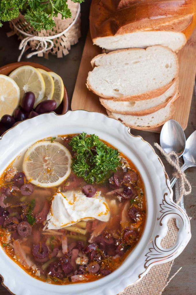 Похмелка - старинный русский суп
