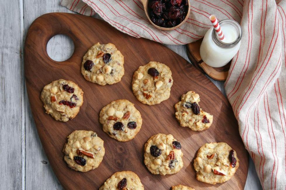 печенье с клюквой рецепт