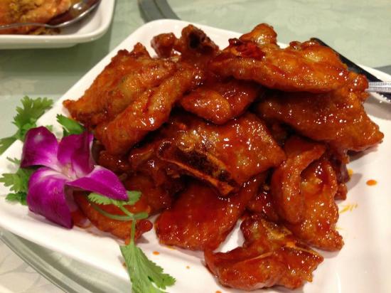 китайская кухня свинина в кисло сладком соусе
