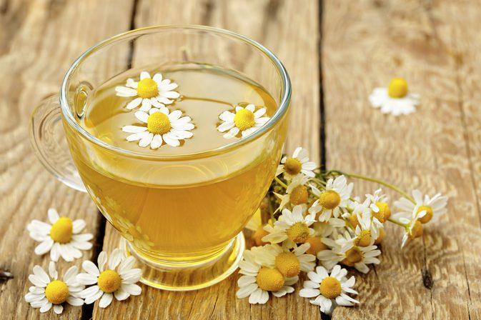 Ромашковый травяной чай