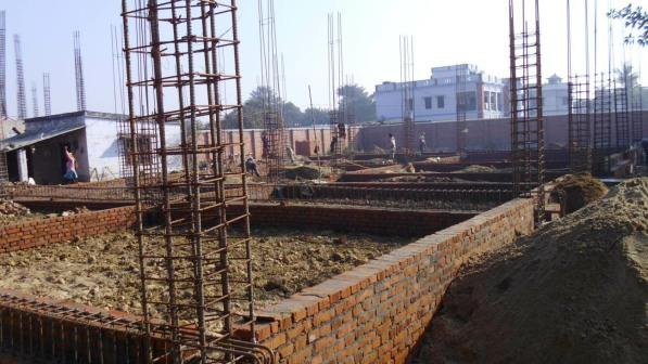 Строительство фундамента под стены