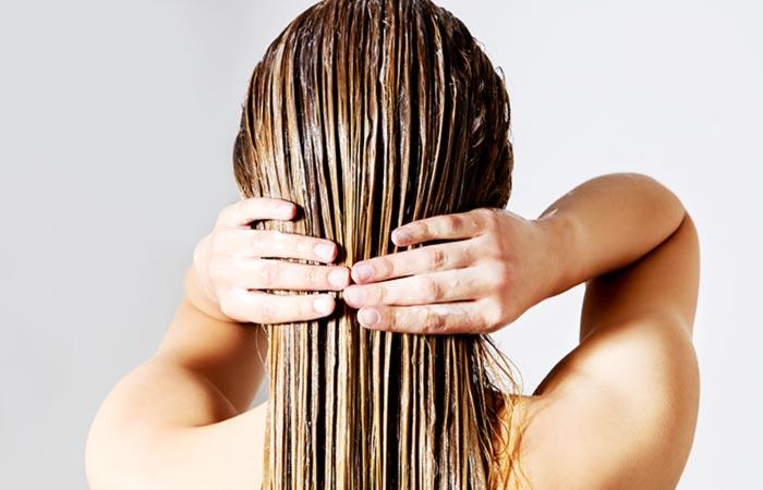 Маска для роста волос с касторовым маслом