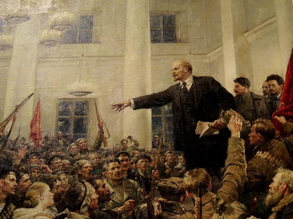 Ленин. Митинг