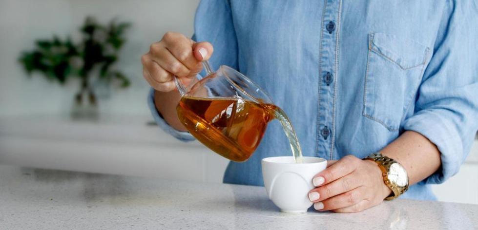 заваривание чая саусеп