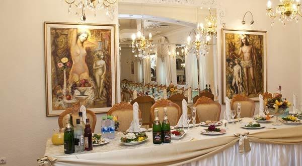 золотой зал заведения