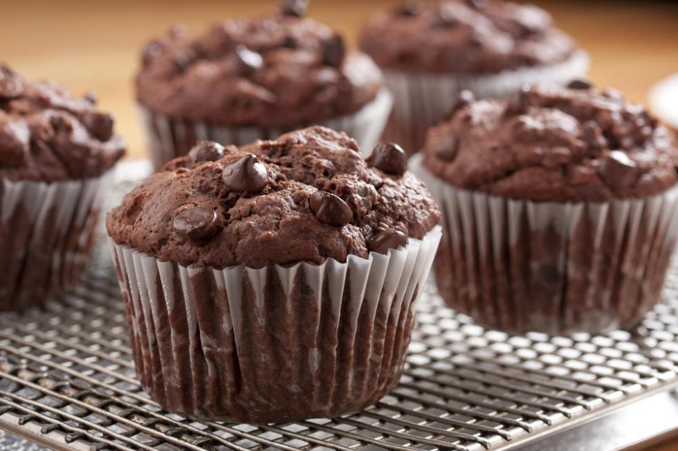Готовим кексы с шоколадными каплями