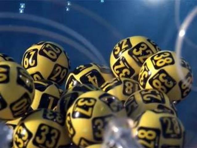 шары с номерами в лототроне