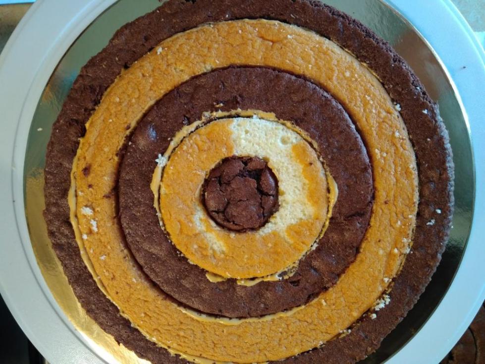шоколадные коржи для торта рецепт в духовке